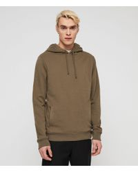 AllSaints - Raven Pullover Hoodie - Lyst