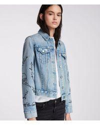 AllSaints - Graff Hay Jacket - Lyst