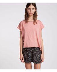 AllSaints - Pina Devo T-shirt - Lyst