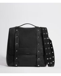 AllSaints - Sid Leather Backpack - Lyst