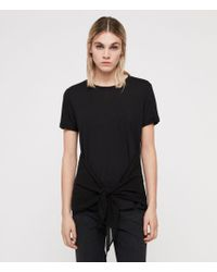 AllSaints - Yato T-shirt - Lyst