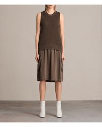 AllSaints - Alexis Dress - Lyst