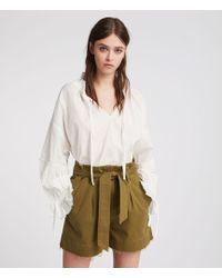 AllSaints - Cala Shorts - Lyst