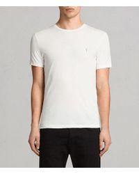 AllSaints - Tonic Crew T-shirt Usa Usa - Lyst