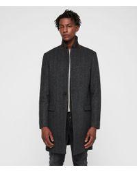 AllSaints - Merton Coat - Lyst