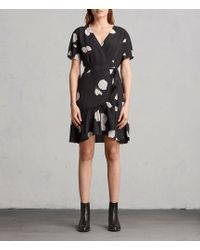 AllSaints - Rene Rodin Silk Dress - Lyst