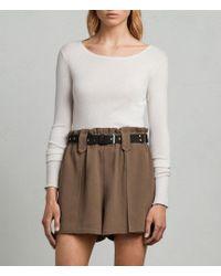 AllSaints - Mercer Shorts - Lyst