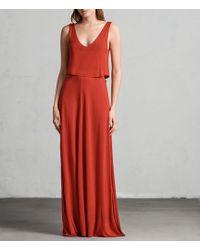 AllSaints - Helena Dress - Lyst