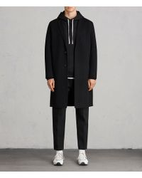 AllSaints - Foley Coat - Lyst