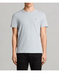 AllSaints - Brace Tonic Crew T-shirt Usa Usa - Lyst