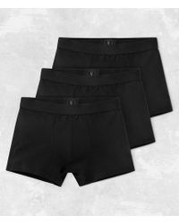 AllSaints - 3 Pack Morrall Boxers - Lyst