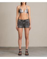 AllSaints | Agnes Dusk Bikini Top | Lyst