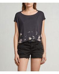 AllSaints - Magnolia Pina T-shirt - Lyst