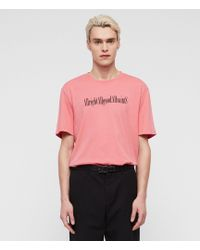 AllSaints - Allgood Crew T-shirt - Lyst