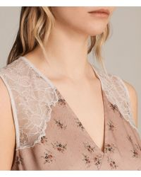 AllSaints - Prism Rosalie Dress - Lyst