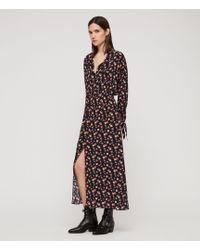 AllSaints - Kristen Kukio Dress - Lyst