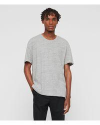 AllSaints - Falcon Short Sleeve Crew T-shirt - Lyst