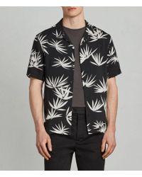 AllSaints - Bhutan Hawaiian Shirt - Lyst