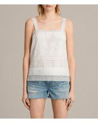 AllSaints - Janey Camisole - Lyst