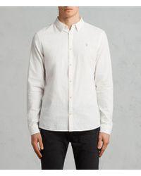 AllSaints - Dulwich Shirt - Lyst