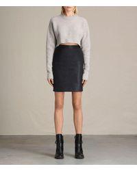 AllSaints - Metal Pencil Skirt Usa Usa - Lyst
