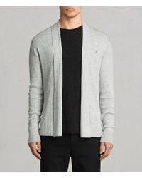 AllSaints - Mode Merino Open Cardigan Usa Usa - Lyst