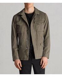 AllSaints - Cote Jacket - Lyst