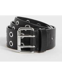AllSaints - Iryna Leather Belt - Lyst