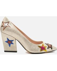 PS by Paul Smith - Women's Ariel Suede Court Shoes - Lyst