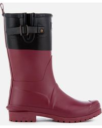 Barbour - Women's Colour Block Short Wellies - Lyst