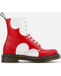 Dr. Martens - Pascal Valentine Smooth Lace Low Boots - Lyst