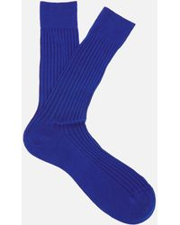 Pantherella - Men's Danvers Classic Cotton Socks - Lyst