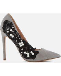 KG by Kurt Geiger - Women's Bounty Embellished Side Court Shoes - Lyst