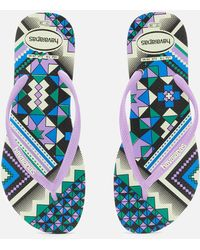 Havaianas - Slim Flip Flops - Lyst