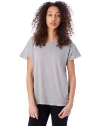 Alternative Apparel - Rocker Garment Dyed T-shirt - Lyst