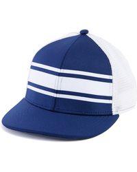 48435e31a4735 Lyst - Forever 21 Flannel Initial Baseball Cap in Gray for Men