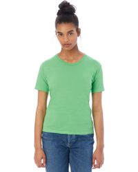 Alternative Apparel - Basic Womens Crew T-shirt - Lyst