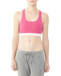 Alternative Apparel - Contender Eco-lycra Racerback Bra - Lyst
