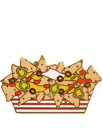 Alternative Apparel - Greenwich Letterpress Nachos Enamel Pin - Lyst