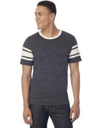Alternative Apparel - Touchdown Eco-jersey T-shirt - Lyst