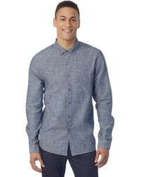 Alternative Apparel - Industry Chambray Shirt - Lyst