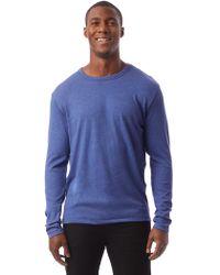 Alternative Apparel - Keeper Vintage Jersey Longsleeve T-shirt - Lyst