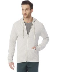 Alternative Apparel - Rocky Eco-fleece Zip Hoodie - Lyst