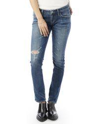 Alternative Apparel - Agolde Chloe Low Rise Slim Jeans - Lyst