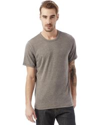 Alternative Apparel - Keeper Vintage Jersey Crew T-shirt - Lyst