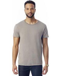 Alternative Apparel - Heritage Garment Dyed Crew T-shirt - Lyst