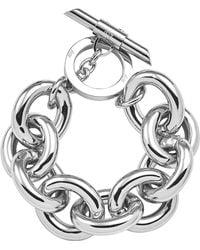 Amanda Wakeley | Chunky Silver Bracelet | Lyst
