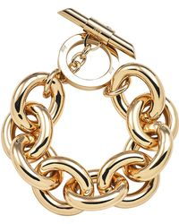 Amanda Wakeley - Chunky Gold Bracelet - Lyst