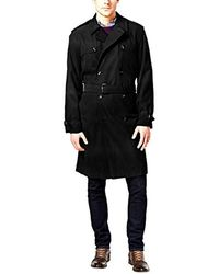 London Fog - Plymouth Twill Belted Double-breasted Iconic Trench Coat - Lyst