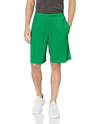 Mesh Shorts With Pockets, Amazon Exclusive Green